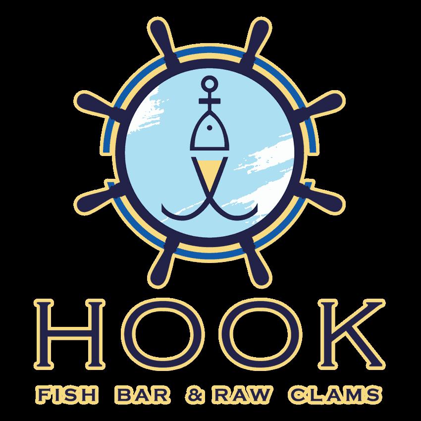 Logo Hook Fish Bar Oaxaca